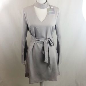 Missguided Gray Dress NWT